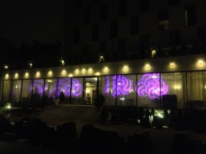 Lights Show at Diesel Hotel Bucuresti.